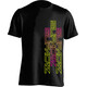 Supacaz Str8 Up T-Shirt Unisex neon pink/neon gelb